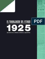 El Trabajador del Estado decano de la prensa sindical argentina