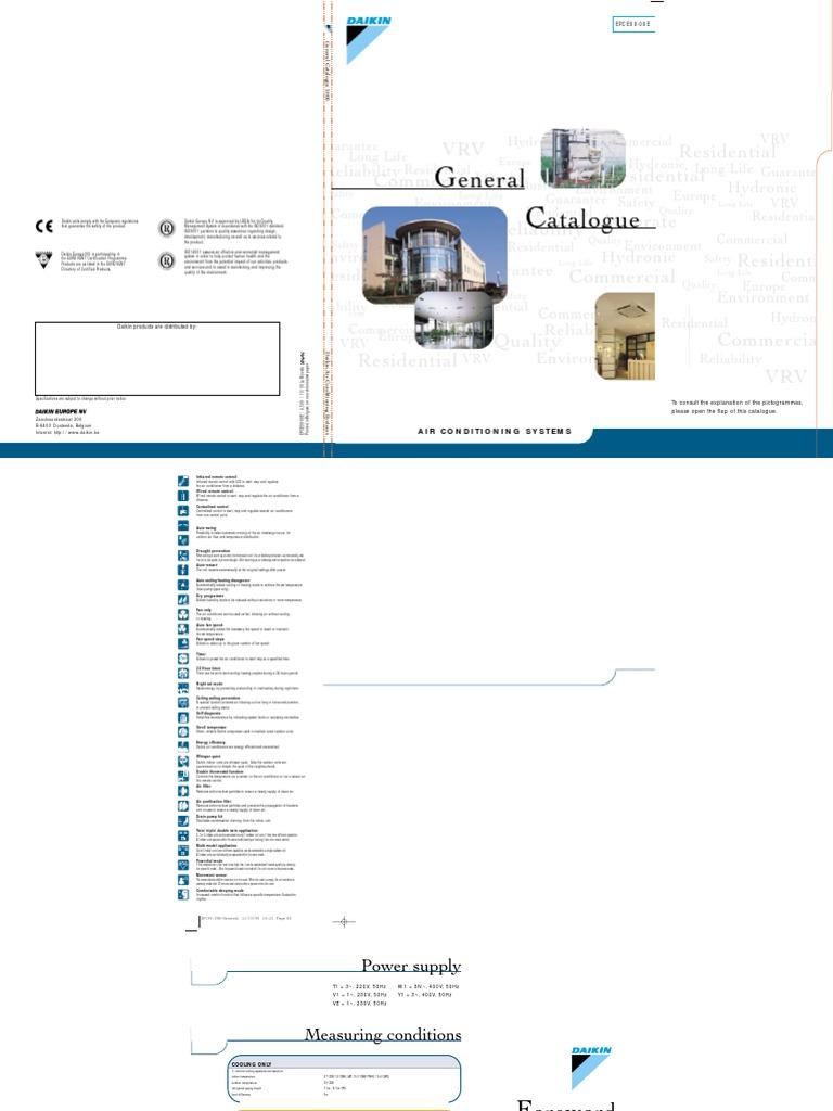 general catalogue air conditioning heat pump rh pt scribd com