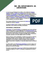 COSTUMBRES DE  LA REGION  LAMBAYEQUE