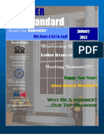BANI's January 2013 Newsletter