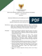 Peraturan Menteri Pekerjaan Umum No. 17 /PRT/M/2011
