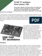 RF MODULATOR D.I.Y.