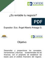 1-Alberto Arteaga Es Rentable Tu Negocio