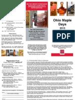 Ohio Maple Days 2013