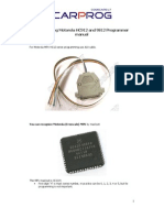 Manual progamadora Motorola hc12