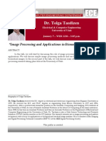 Image Processing and Applications in Biomedical Problems