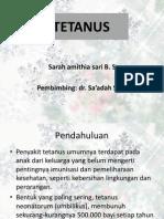 Tetanus Present