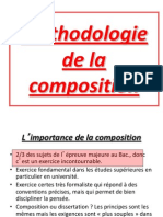 La Composition Bac 2013