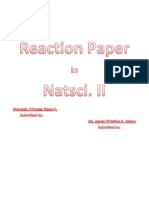 reaction paper about climate change
