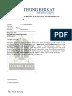 Contoh Proposal Usaha Makanan Catering