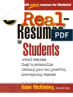 Real Resumes for Students