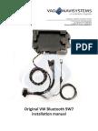 Installation Manual Bluetooth VW 9W7 ENGLISH