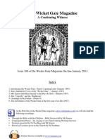 Wicket Gate Magazine Edition 100 (January-February 2013)