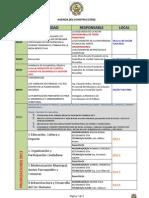 Agenda NOVENA AUCM (Resumen)
