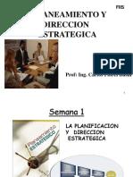 Planeamiento y Direccion Estrategica