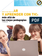 Aprender con TIC. Mas allá de las viejas pedagogías