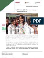 02-01-13 Boletin 1092 Intensifica Gobierno de La Gente Vigilancia en Zona Serrana Por Bajas Temperaturas