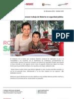 02-01-13 Boletin 1093 Comerciantes reconocen trabajo de Roberto en seguridad pública
