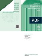 Directrices para el tratamiento hospitalario de los niños con malnutricion grave