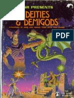 deities & demigods