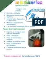 Os beneficios da atividade fisica
