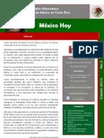 """Boletín Informativo """"México Hoy"""", edición de Enero"""