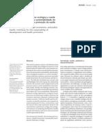 Political ecology, ecological economics, and public health