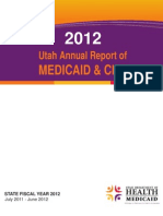 2012 Utah Report of MEDICAID and CHIP