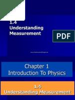 1.4 Understanding Measurement