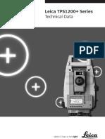 Leica TPS1200+ TechnicalData En