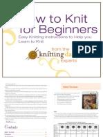 Beginning Knitting Final