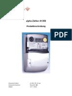 Produktbeschreibung Elster A1350