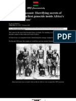 the First Holocaust Horrifying Secrets of Germany s Earliest Genocide Inside Africa s Forbidden Zone