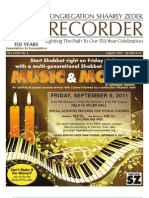 The Recorder 2011 August