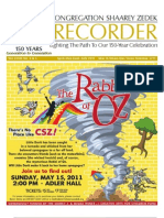The Recorder 2011 April / July