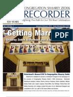 The Recorder 2012 Jan / Feb