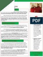 Ministry December 2012 Newsletter 2
