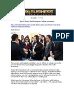 FOX Business, December 17, 2012, Rasmussen