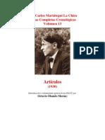 Vol 13 - MARIATEGUI - Obras Completas Cronológicas. 1930. (AUDIOLIBROS)