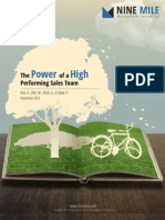 The Power of a High Performing Sales Team