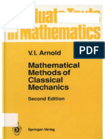 Arnold v I - Mathematical Methods of Classical Mechanics
