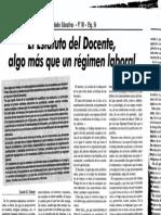 Garay El Estatuto Doc Algo Mas Que Un Regimen Laborl