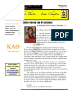 Theta Newsletter Winter 2012-2013