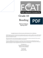 Reading Test Grade 10