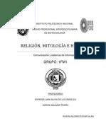 Religion, Mitologia e Historia