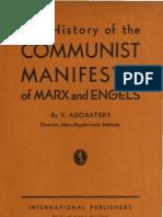 History of the Communist Manifesto