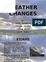 Weather Changes - Group 2
