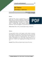 EDUCAÇÃO FÍSICA ATIVIDADE EPISTEMOLÓGICA E OBJETIVISMO