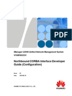 Huawei iManager U2000 Northbound CORBA Interface Developer Guide(Configuration)
