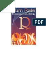 Burn rate Books